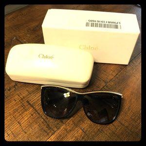 Chloe black rectangular sunglasses 🕶